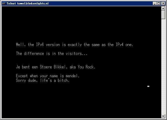 Starwars IPv6