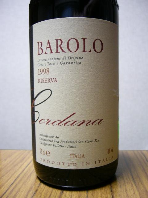 BAROLO 1998